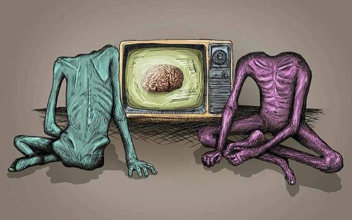 مغزشویی در رسانه فرقه رجوی
