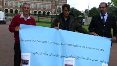 درخواست جداشدگان از دادگاه لاهه