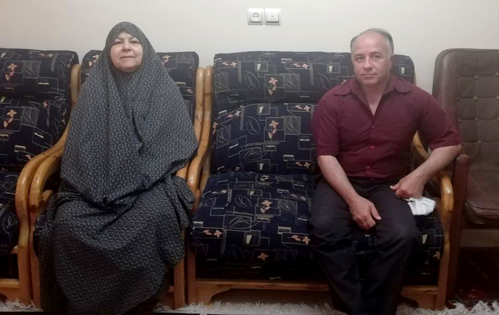 مادر حمید اسماعیل بیگی