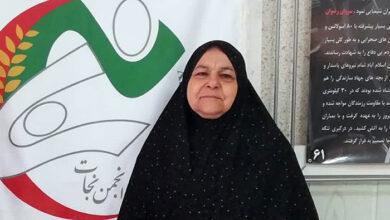 مادر حمیدرضا اسماعیل بیگی