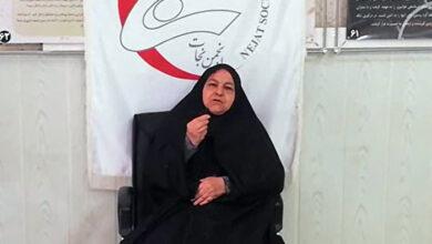 تصویر از صحبتهای مادر حمید رضا اسماعیل بیگی در گردهمایی انجمن نجات تیر 1399 + فیلم