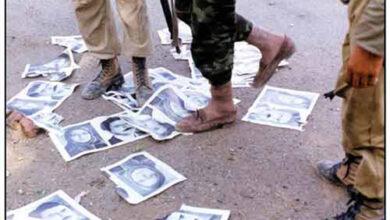 Photo of مردم کرمانشاه از نیروهای بسیجی مدافع مرز و بوم استقبال کردند و نه مجاهدین خائن