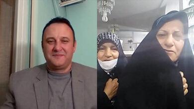تصویر از ارتباط زنده خانواده خسروی و فرجی پور با روزنامه نگار آلبانیایی