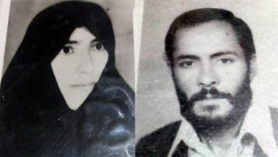 عطا فتحی زاده و همسرش نصرت جوادی