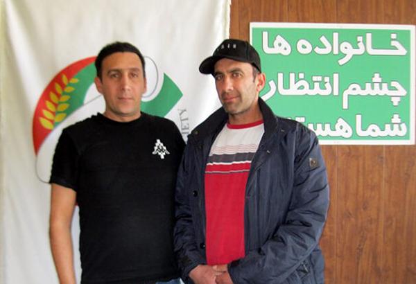 سعید فیروزی و طاها حسینی