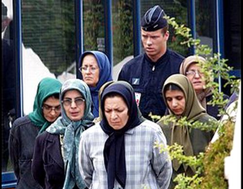 دستگیری مریم رجوی در فرانسه