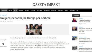 """تصویر از انعکاس رسانه ای نامه های خانواده های استان مرکزی به """"ادی راما"""" در آلبانی"""