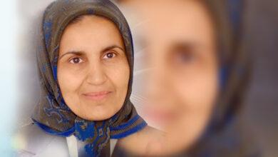 """تصویر رجوی جنایتکار مقصر اصلی مرگ خواهرم """"شهین قاسمی"""""""