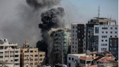 شبکه الجزیره و خبرگزاری آسوشیتدپرس در غزه