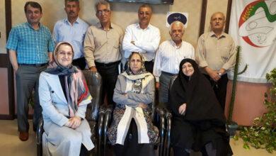 تصویر از دیدار صمیمی انجمن نجات با شماری از خانواده های چشم انتظار گیلک به روایت تصویر