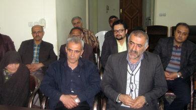 آقای پرویز گلدوست نفر اول از سمت راست