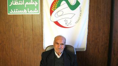 تصویر از گفتگو با آقای گل ریزان پدر عباس گل ریزان اسیر در فرقه رجوی