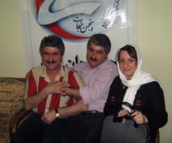 تصویر از حمید حاجی پور از جمله کسانی بود که ادعای سخیف رجوی را به سخره گرفت