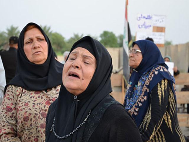 مادران رنج دیده اعضای دربند فرقه ی مجاهدین