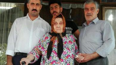 تصویر از دیدار از یک خانواده چشم انتظار و عیادت مادر