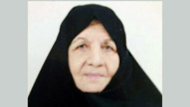 Photo of نامه خانم اشرف محلاتی به فرزندش فرزین هاشمی