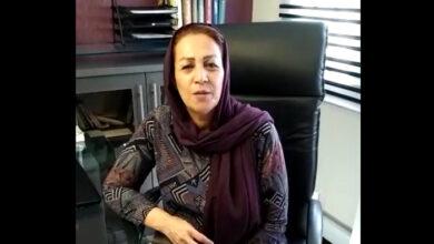 تصویر از درخواست خواهر داوود حیدریان ابهری از مقامات کشور آلبانی