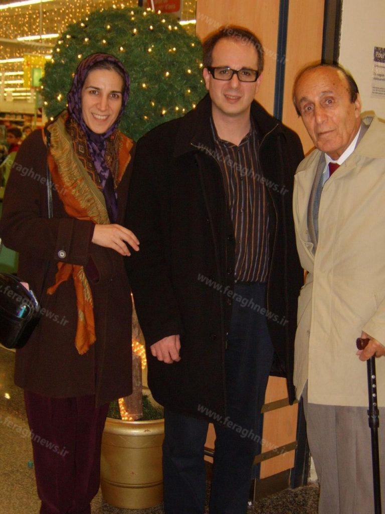 گلناز جواهری در کنار خانواده