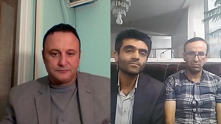 مصاحبه برادر اکبر خسروی با اولسی یازجی