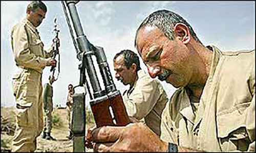 مجاهدین - ترور - سلاح