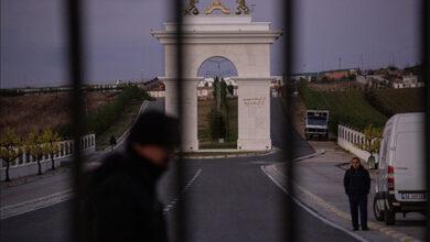 تصویر از گزارش نیویورک تایمز از اردوگاه مجاهدین در آلبانی