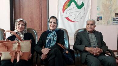 خانواده ی علی اشرف ملکی در انجمن نجات کرمانشاه