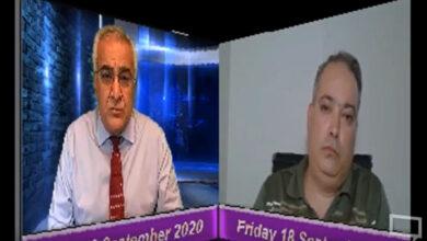 تصویر از آقای احسان بیدی میهمان تلویزیون مردم تی وی