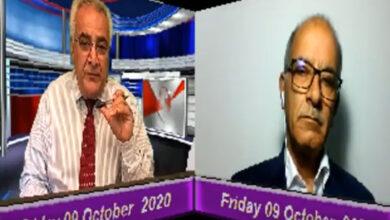 تصویر از غلامعلی میرزایی میهمان تلویزیون مردم تی وی