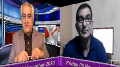 تصویر از منصور نظری میهمان تلویزیون مردم تی وی