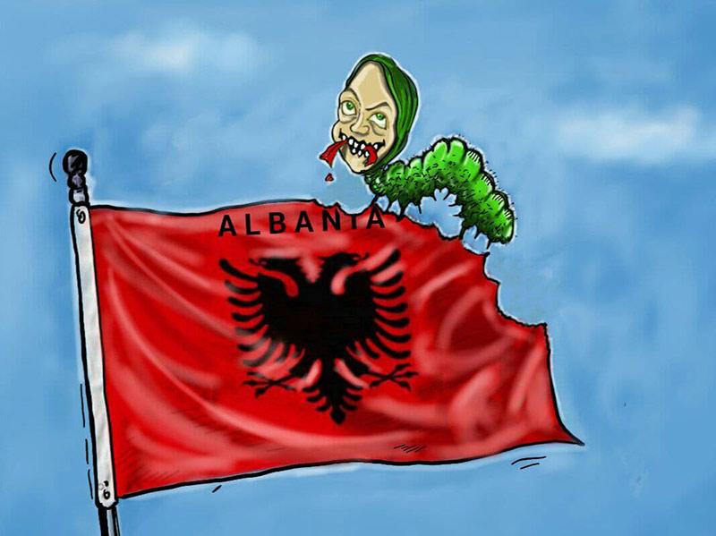 مریم رجوی و آلبانی