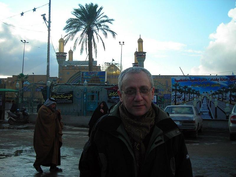 مسعود خدابنده در کاظمین
