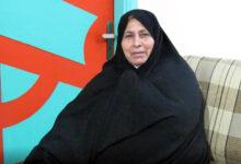 Photo of پیام خانم صدیقه عباسی به همسرش رضا علی میرزایی