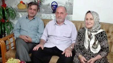 تصویر از دیدار صمیمانه از خانواده دردمند و چشم انتظار عضو اسیر رجوی یوسف مبرهن