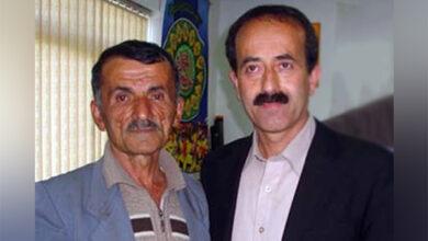 عبدالله مجتهدی در کنار محمد باقر کشاورز