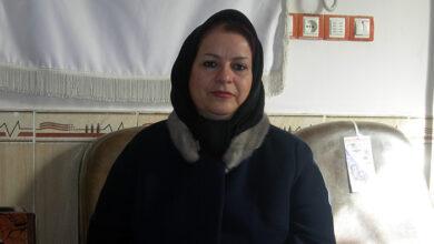 خواهر یحی مرادپور - کرمانشاه