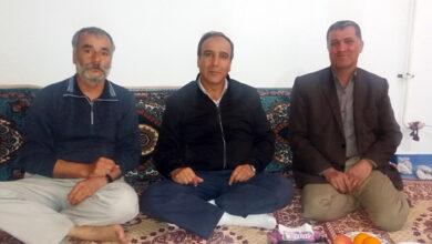 Photo of دیدار انجمن نجات زنجان با خانواده حمید و صادق مرسلی