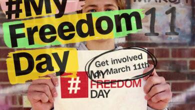 Photo of در روز 11 مارس 2020، دانشجویان در برابر برده داری نوین می ایستند