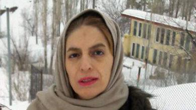 مهین نجفی خواهر محمد جعفر نجفی