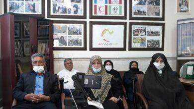 تصویر از گردهمایی انجمن نجات اردبیل – تیر 1399