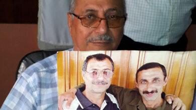 تصویر از پیام تصویری مرتضی پورحسن به برادرش اسماعیل عضو اسیر رجوی در زندان مانز آلبانی