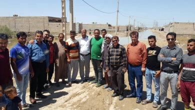 Photo of دیدار اعضای انجمن خوزستان از مناطق سیل زده شهر اهواز