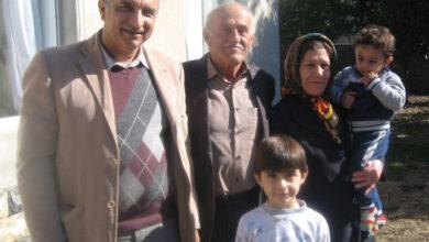 تصویر از مسئولین فرقه مجاهدین را متقاعد کنید تا اجازه دهند علی شیرگاهی با خانواده اش تماس بگیرد