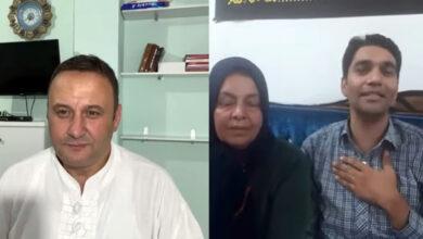 تصویر از خانواده محمد علی مالکی از دولت آلبانی می خواهند اجازه دهد تا او با خانواده اش صحبت کند