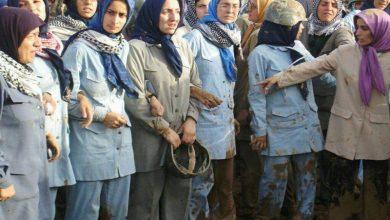 زنان عضو فرقه رجوی – قرارگاه اشرف