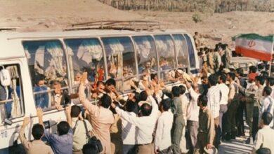 تصویر از بیاد اسیرانی که از اسارتگاه صدام به اسارت رجوی رفتند