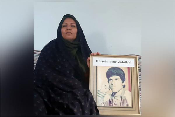 فاطمه پورعبداللهی خواهر حسین پورعبداللهی