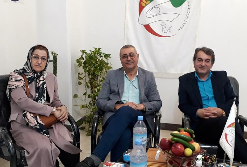 خانواده اسماعیل پورحسن کویخی در انجمن نجات گیلان