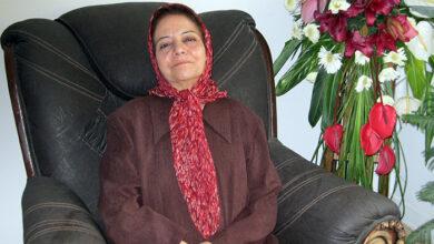 مهین حبیبی مادر پروانه ربیعی عباسی