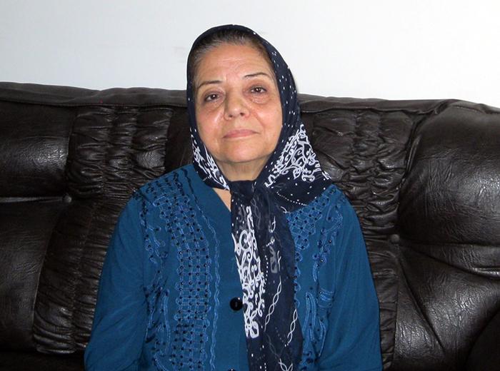 خانم حبیبی؛ مادر پروانه ربیعی