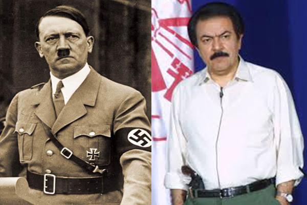 رجوی و هیتلر